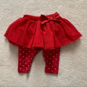 NWOT BabyGap Tutu skirt with leggings